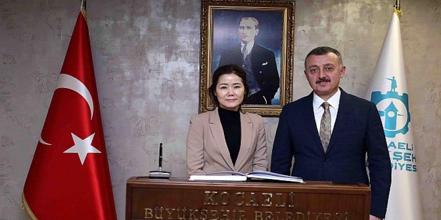 Güney Kore Başkonsolosu'ndan ziyaret