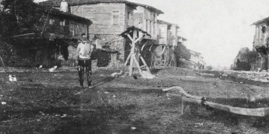 Eski Gebze'den eski bir fotoğraf