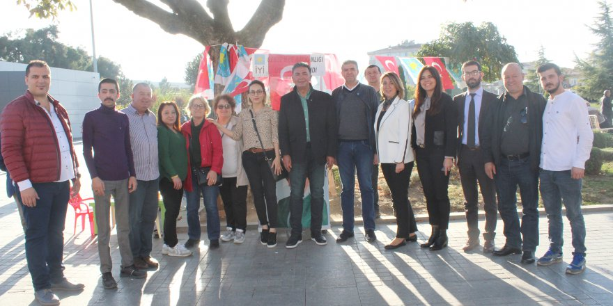 İYİ Parti İl Başkanı Gebze'deydi