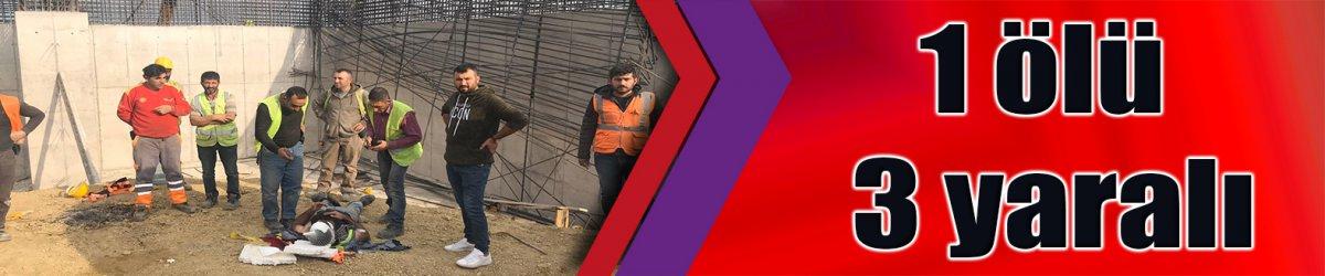 Kuzey Marmara Otoyolu Projesi'nde iş kazası; 1 ölü 3 yaralı