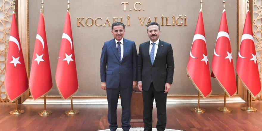 Topaca'dan Aksoy'a ziyaret