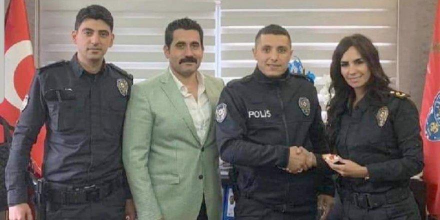 Polis memuru ödüllendirildi