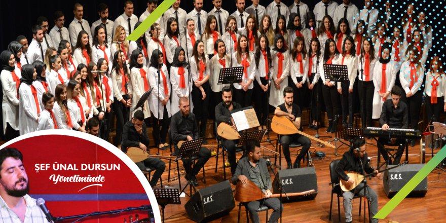 Çayırova'da Türk Halk Müziği Konseri