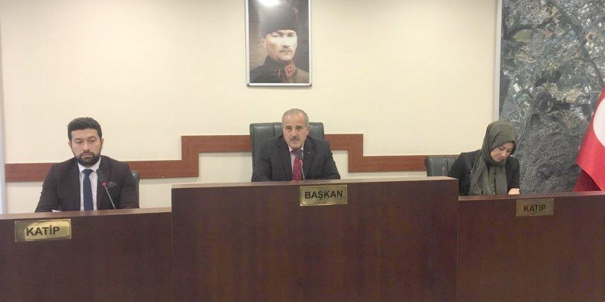 Çayırova'da yılın son meclisi