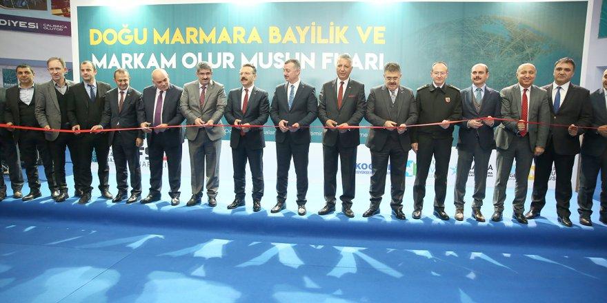 """Doğu Marmara Bayilik ve Kahve Fuarı"""" açıldı"""