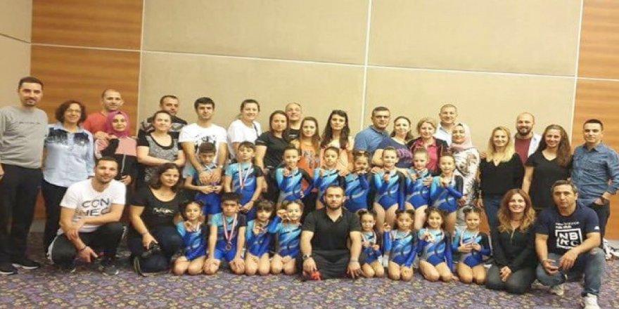 Tebrikler Gebzeli cimnasitikçilerimize