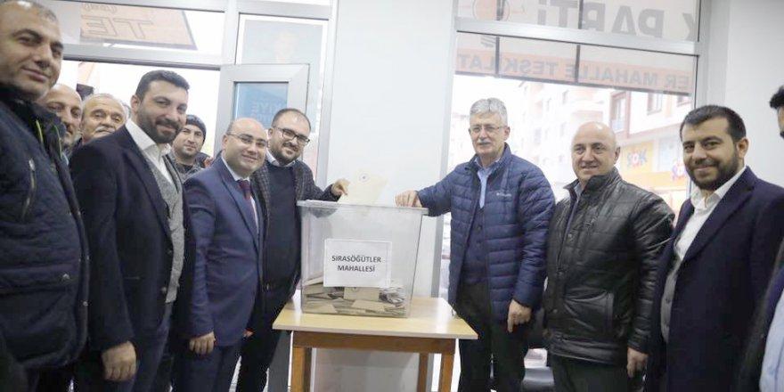 AKP delegelerini seçti