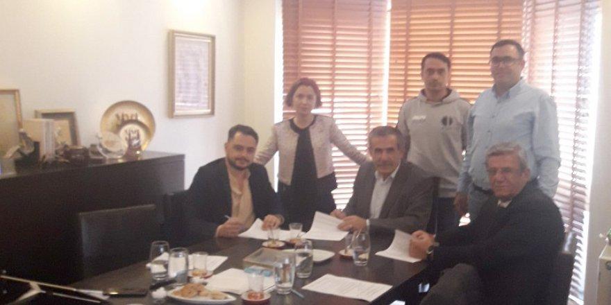 Nakliyat-İş taşeronda sözleşme imzaladı