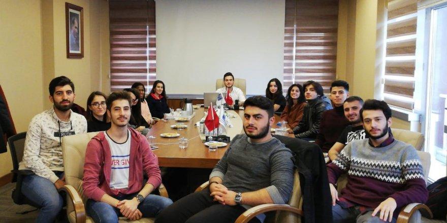 Genç İMO'da temsilciler zirvesi