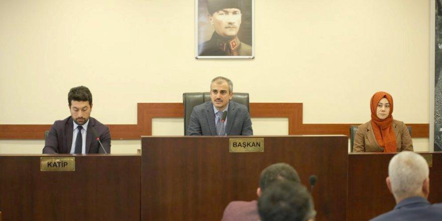 Çayırova Belediyesi  meclis toplantısı yapıldı