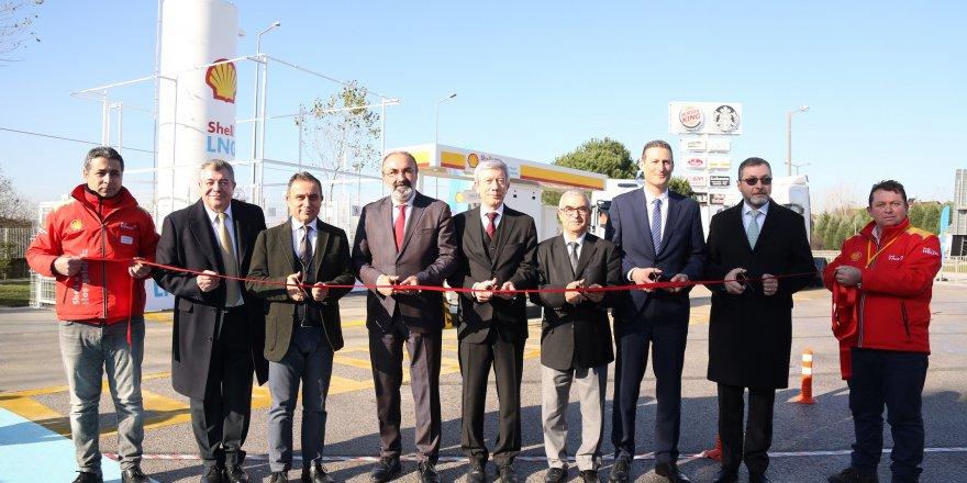 Türkiye'nin ilk sıvılaştırılmış doğal gaz istasyonu açıldı