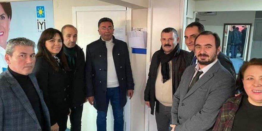 İYİ Parti il başkanı Yıldız Gebze'deydi