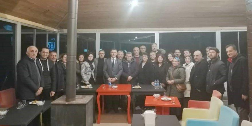 Sait Aydın delegelerle buluşuyor
