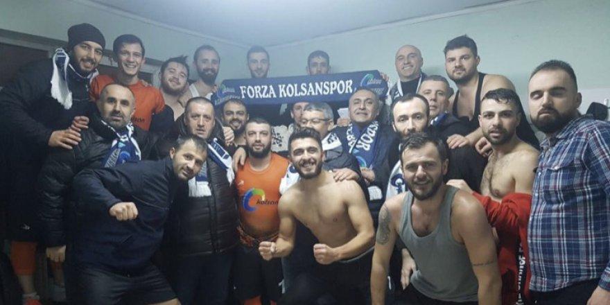 Turkuaz'da Yeni lider Kolsan: 4-3