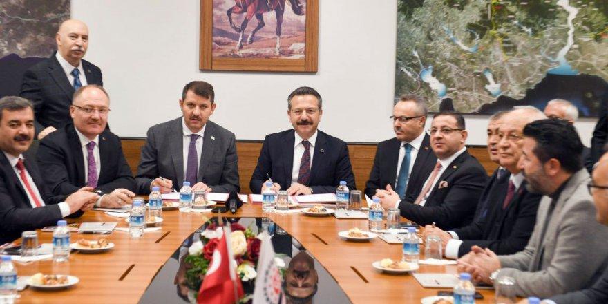 Kardeş OSB protokolü imzalandı