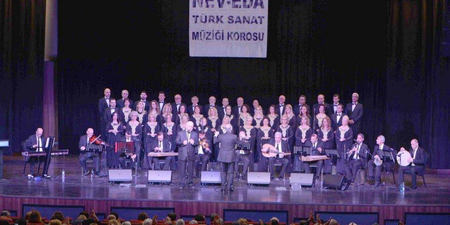 Türk Sanat Müziği konserine ilgi yoğundu