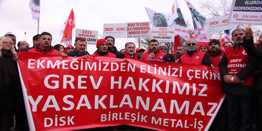 Metal'de greve doğru