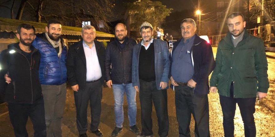 YRP Ovacık Köyü'ne gitti