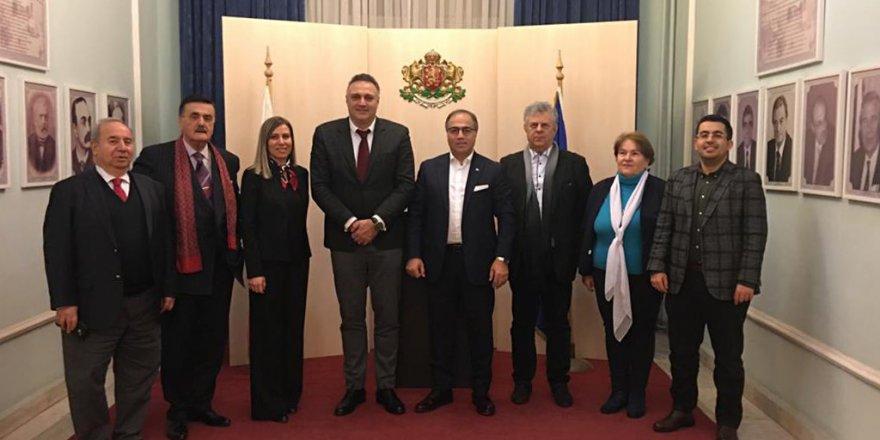 GOSB heyeti Bulgaristan'a gitti