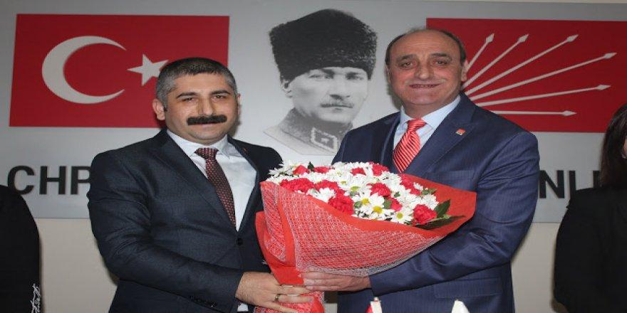 CHP Gebze'de Orhan görevi devraldı