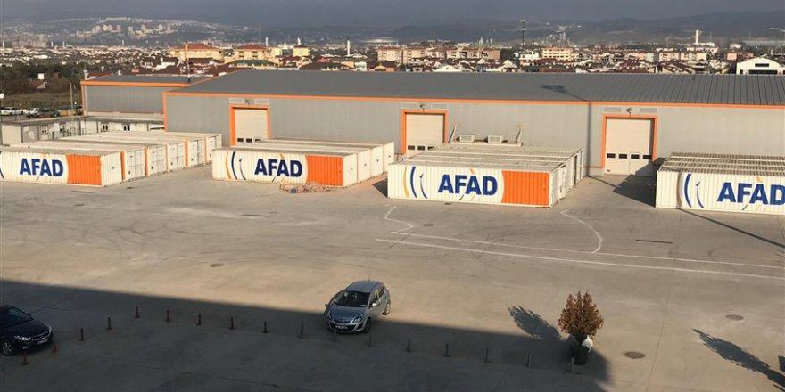 AFAD yardımları kabul etmeye başladı