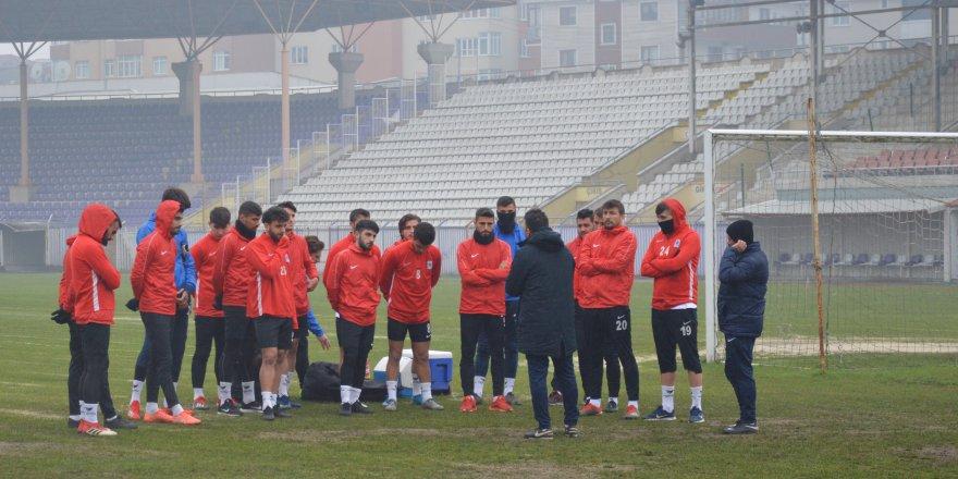 Gebzespor'da Yelken maçı hazırlıkları başladı
