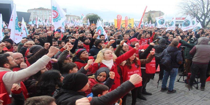 10 bin metal işçisi greve çıkıyor