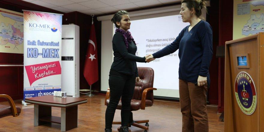 Jandarma'ya Etkili İletişim eğitimi