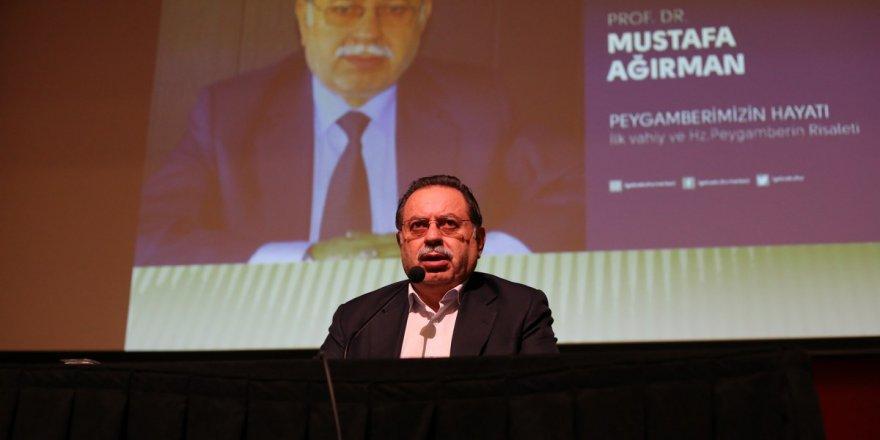 Mustafa Ağırman'dan konferans