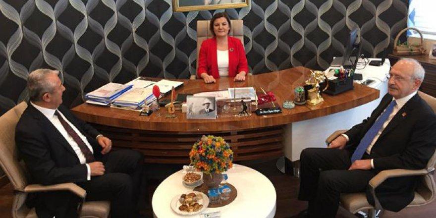 Kılıçdaroğlu Hürriyet'i ziyaret etti