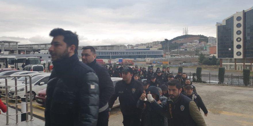 Suç örgütü operasyonunda 24 zanlı tutuklandı
