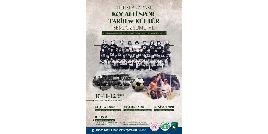 Sempozyumun konusu Kocaeli Spor, Tarih ve Kültür