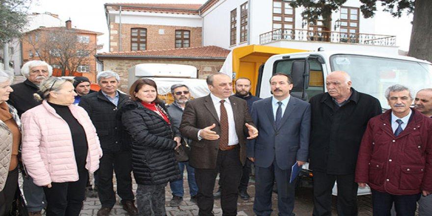 Elazığ'a 200 koli yardım