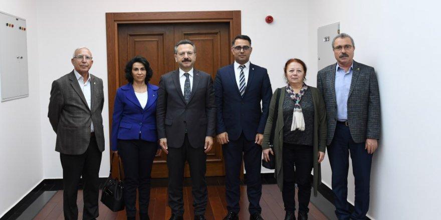 CHP Darıca'dan Aksoy'a ziyaret