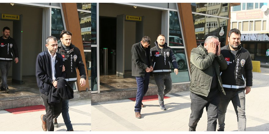 Triko ipliği yüklü tırı çalanlar tutuklandı