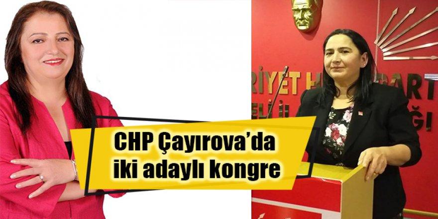 CHP Çayırova'da iki adaylı kongre