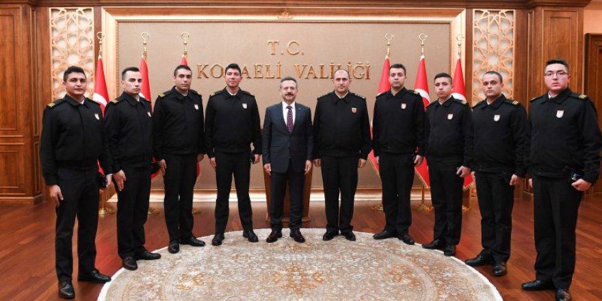 Vali Aksoy'u ziyaret ettiler