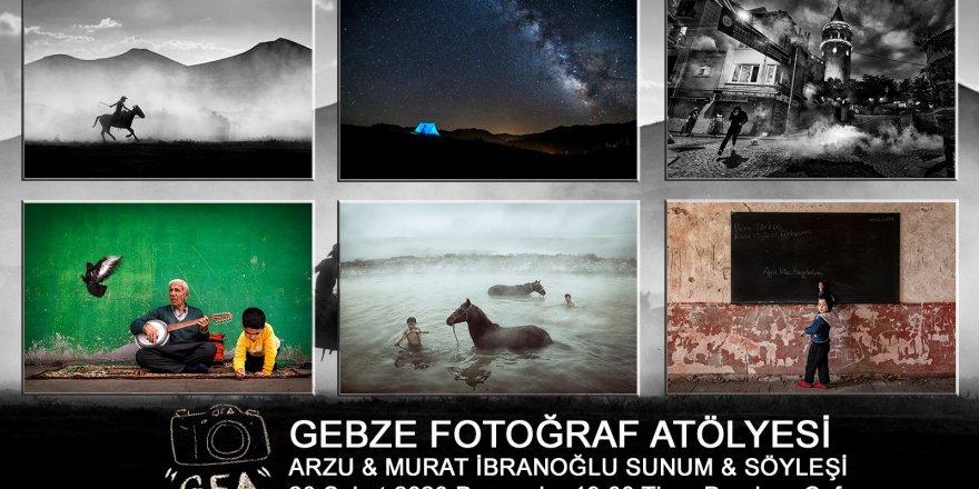 Gebze Fotoğraf Atölyesi'nden Arzu & Murat İbranoğlu Sunum & Söyleşisi