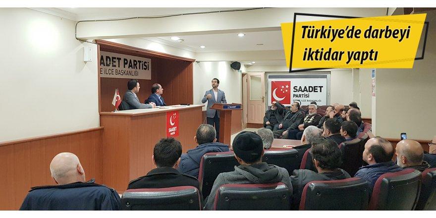 Türkiye'de darbeyi iktidar yaptı