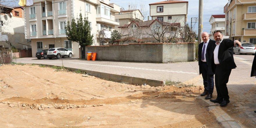 Fevzi Çakmak'a semt sahası ve çocuk parkı
