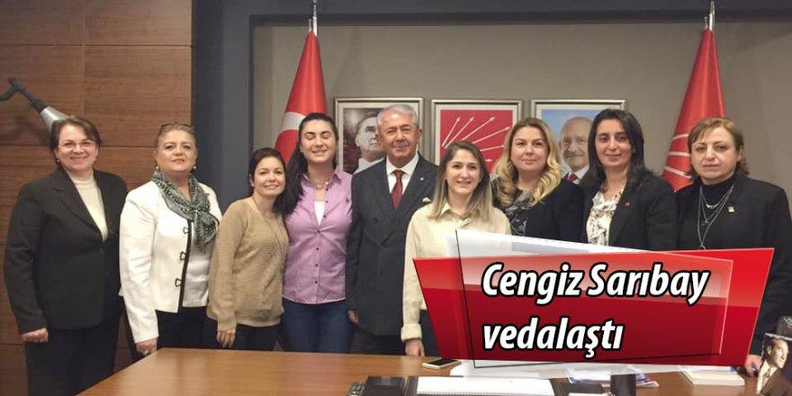 Cengiz Sarıbay vedalaştı