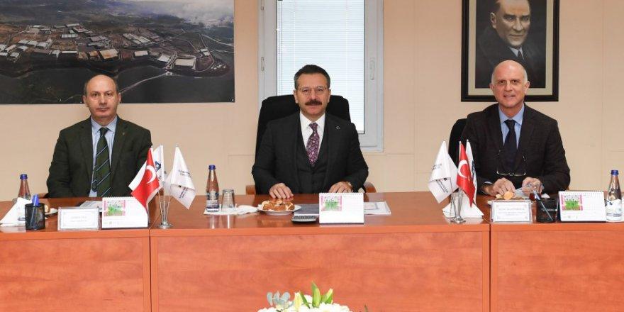 Vali Aksoy toplantıya başkanlık yaptı