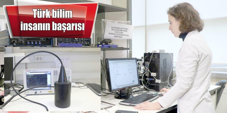Türk bilim insanın başarısı