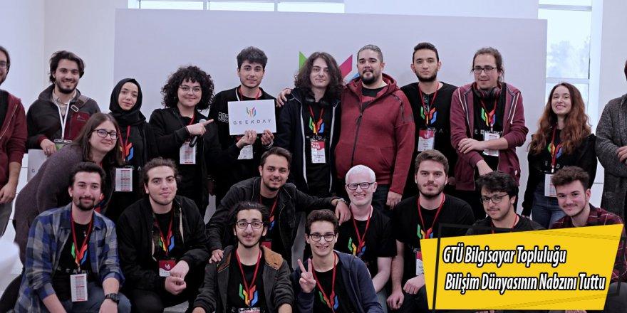 GTÜ Bilgisayar Topluluğu Bilişim Dünyasının Nabzını Tuttu