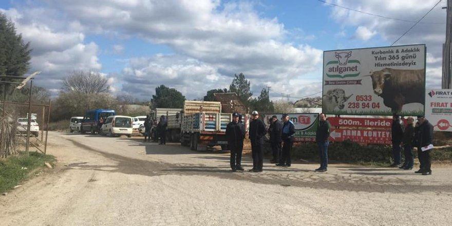 Halis Koç'un işyerine tahliyeyi mahkeme önledi