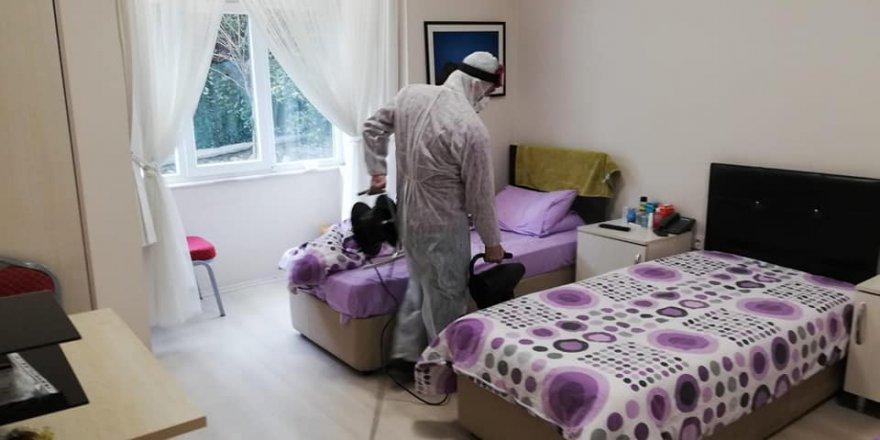 Huzurevi'ne koronavirüs temizliği