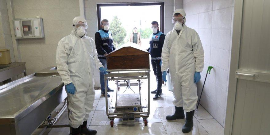 Cenaze hizmetleri tedbirleri artırıldı