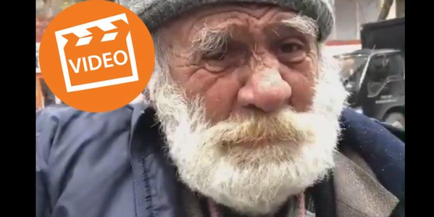 Gebze'deki yaşlı adam sosyal medyada olay oldu!