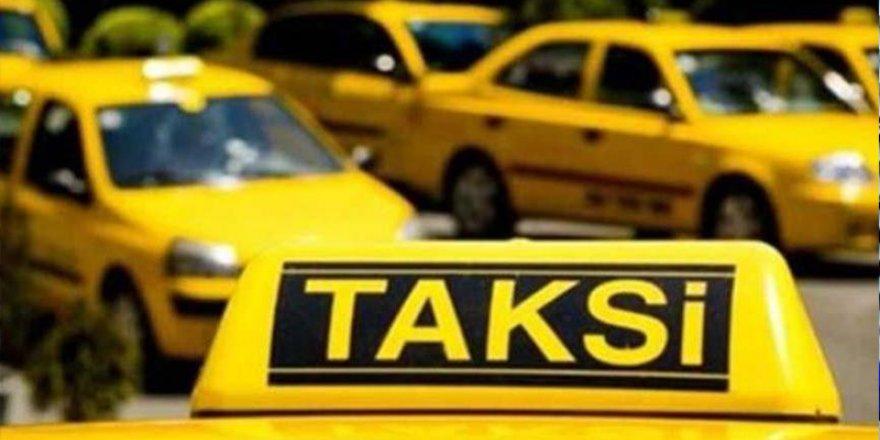 Ticari taksilere kısıtlama