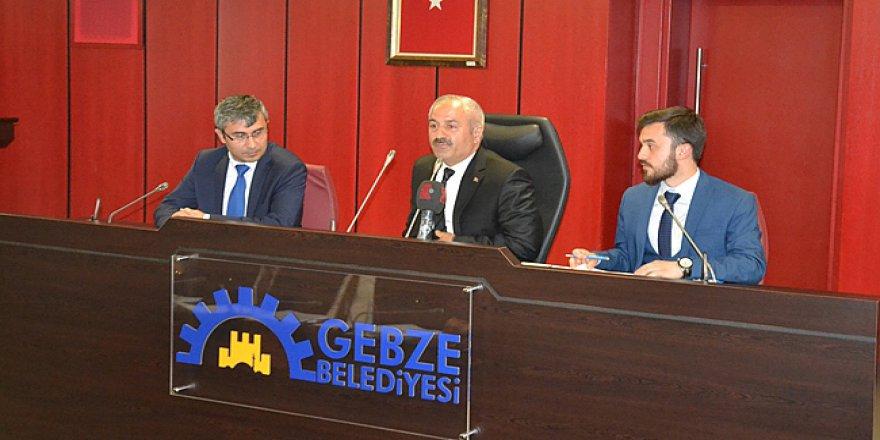 Gebze Belediye meclisi olağanüstü toplanıyor